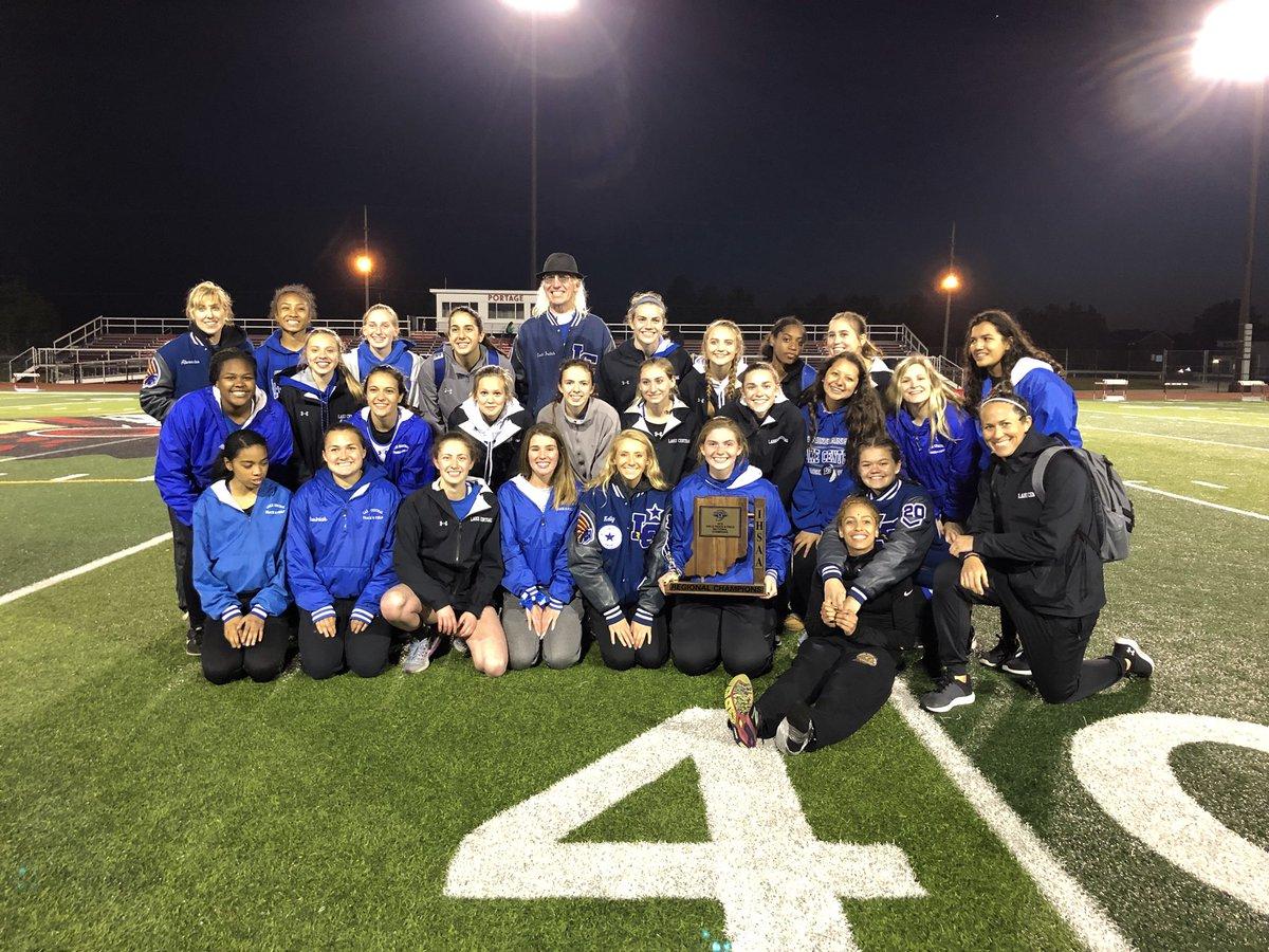 Girls' Track & Field Regional Champions